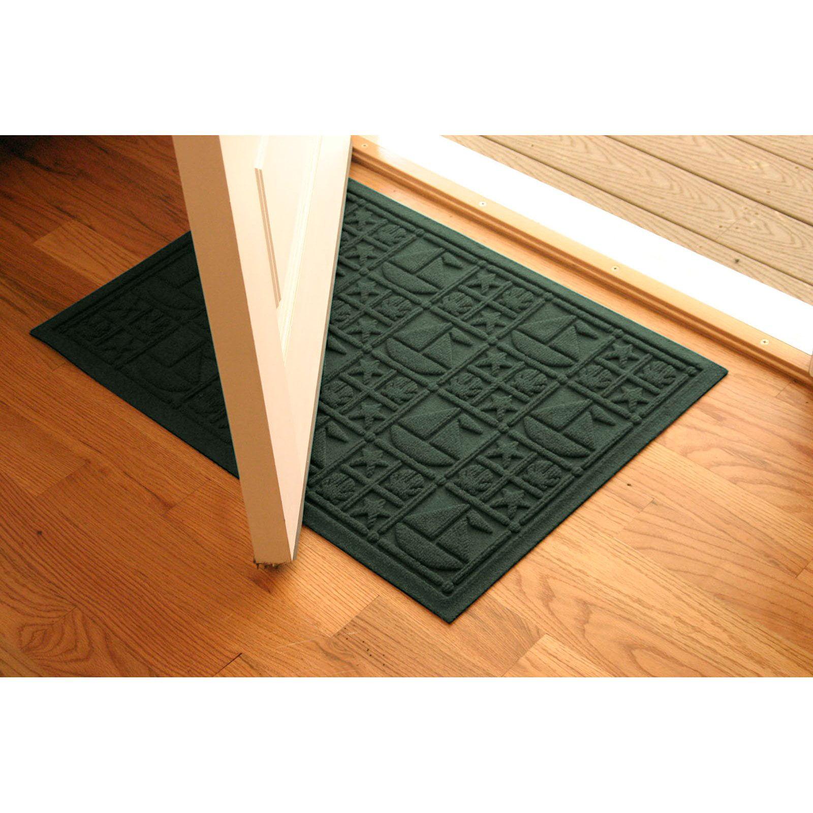 Bungalow Flooring Water Guard Nautical Indoor / Outdoor Door Mat - 2 x 3 ft.