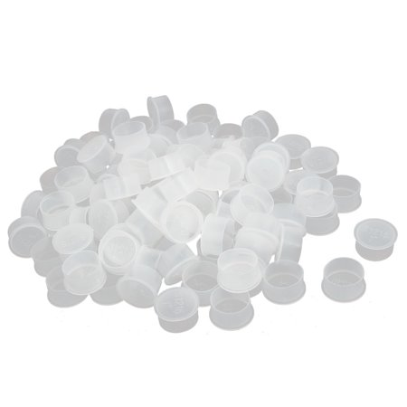 G1 Filetage Plastique PE Gaine Tuyau Manchon Protection Housse en 100pcs - image 3 de 3