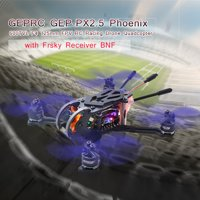 GEPRC GEP-PX2.5 Phoenix 600TVL Camera 125mm FPV RC Racing Drone Quadcopter w/ Frsky Receiver BNF