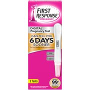 First Response Gold Digital Pregnancy Test 2Ct Box