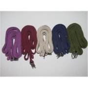 OmSutra OM131008-Purple Yoga Strap D-Ring 8 inch