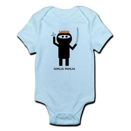 CafePress - Ginja Ninja 1 Body Suit - Baby Light - Ninja Onesie