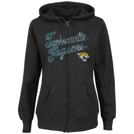 Jacksonville Jaguars Womens Full Zip Majestic Hoodie by