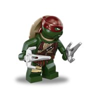 LEGO Minifigure - Teenage Mutant Ninja Turtles - RAPHAEL with Sai Weapons