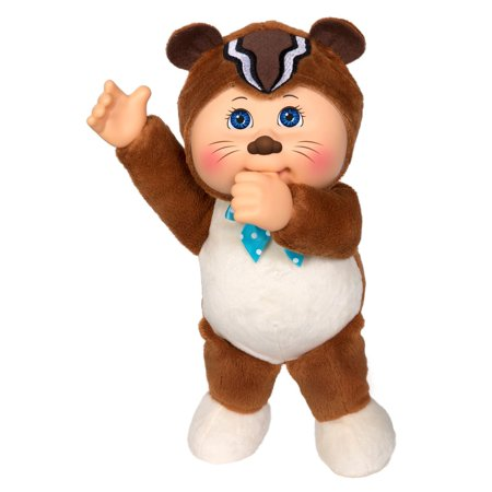 Cabbage Patch Cuties Woodland Friends Collection Theo Chipmunk Baby Doll