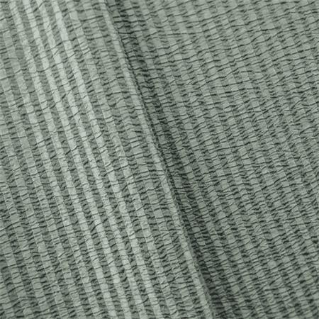 Gray Seersucker Stripe Home Decorating Fabric, Fabric By the Yard ()