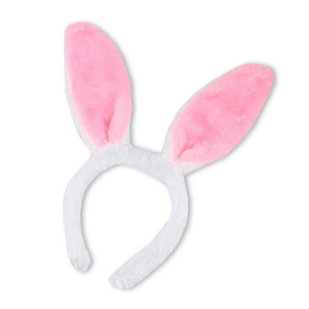 Pink Bunny Rabbit Ears Headband Halloween Easter Christmas Cosplay Party Costumes - Heavy Metal Band Halloween