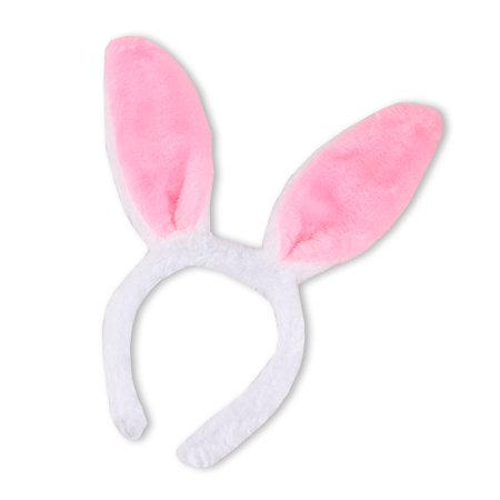 Pink Bunny Rabbit Ears Headband Halloween Easter Christmas Cosplay Party - Leopard Halloween Ears
