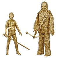 Star Wars Skywalker Saga 3.75-inch Scale Luke Skywalker and Chewbacca Toys Star Wars: Return of the Jedi Action Figures