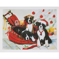 6 Boxer Boxed Christmas Greeting Cards