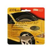 TRIMBRITE T1138 Pinstripe Tape, Brite Gold, 0. 12 inch X 36 Ft.