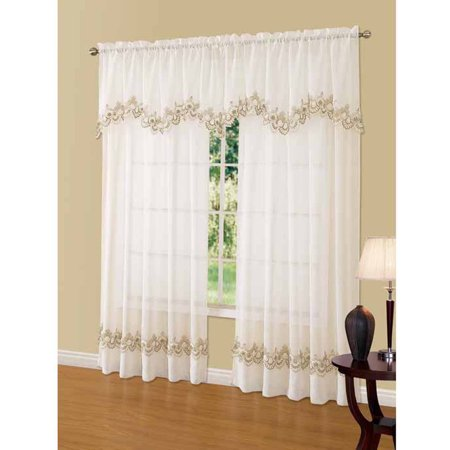 Curtains Ideas cheap lace curtain panels : Cavalier Lace Curtain Panel - Walmart.com