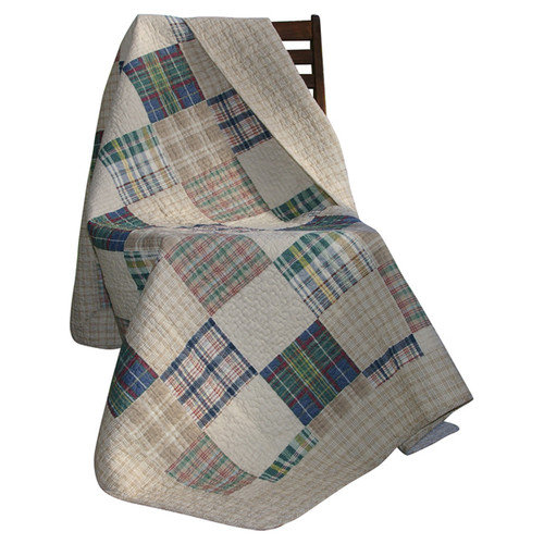 Greenland Home Fashions Oxford Cotton Throw