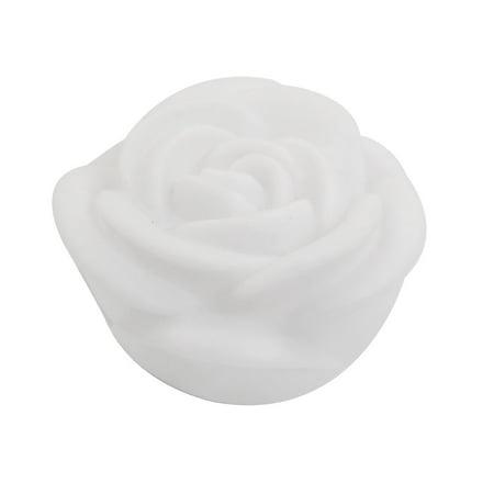 Household Desktop Ornament  Night Light Lamp White Rose - Halloween Desktop Pics