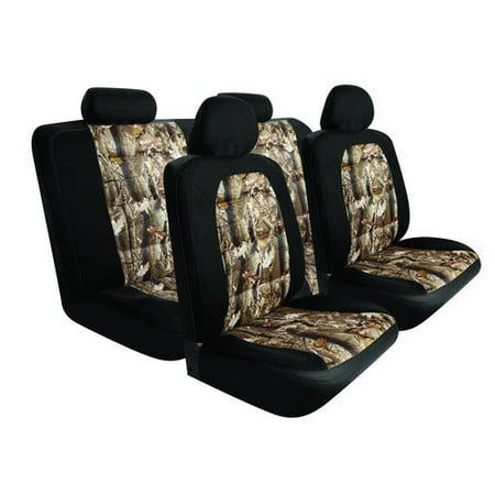 Seat Kit Pilot - Pilot Automotive SC-5025E Black/Camo Mesh Seat Covers – 10 Pieces
