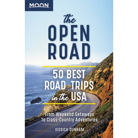 Travel Guide: The Open Road : 50 Best Road Trips in the USA (Paperback)