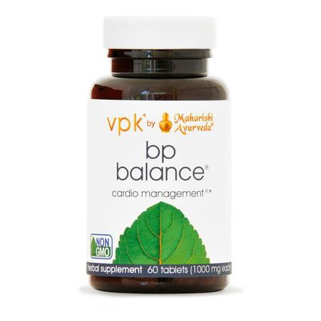 BP Balance | 60 Herbal Tablets | Natural Formula to Support Healthy Blood Pressure with Jatamansi & Arjuna | Detoxifies & Promotes Healthy Liver Function | Nourishes Blood Vessels & the Heart (Promotes Blood Vessel)