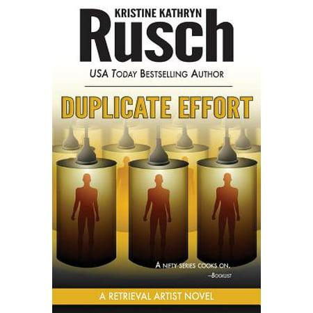 Duplicate Effort: A Retrieval Artist Novel by