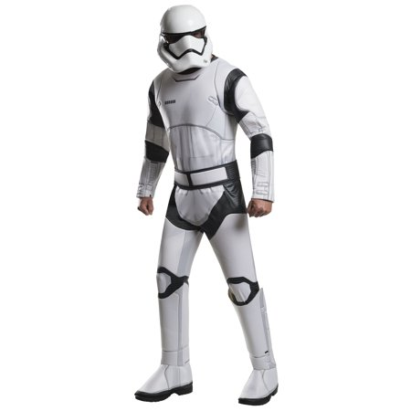 Star Wars:  The Force Awakens Deluxe Stormtrooper Men's Adult Halloween Costume, XL