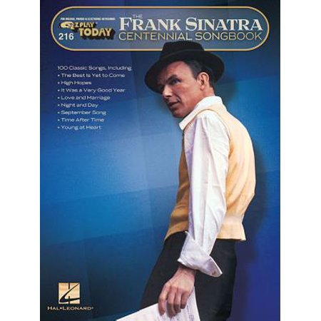 Frank Sinatra Centennial Songbook : E-Z Play Today #216 - Frank Sinatra Costume