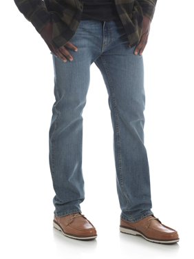 Wrangler Men's 5 Star Straight Fit Jeans with Flex