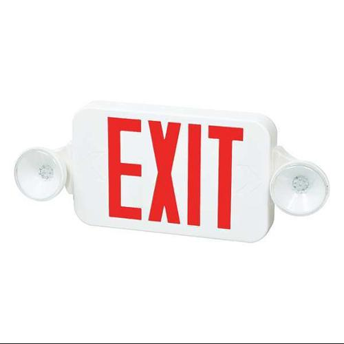 FULHAM FIREHORSE EXIT LIGHTING FULHAM FIREHORSE EXIT LIGHTING  LED Exit Sign Combo, FHEC30WR