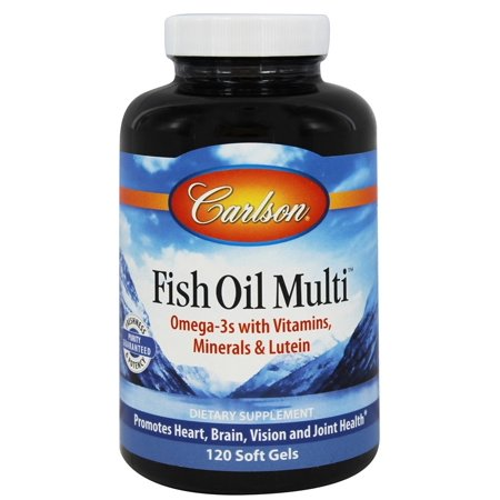 Carlson labs norwegian fish oil multi plus lutein iron for Carlson norwegian fish oil