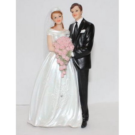 Wedding Gifts For Bride And Groom Walmart : December Diamonds Bride and Groom Couple Wedding Cake Topper Figurine