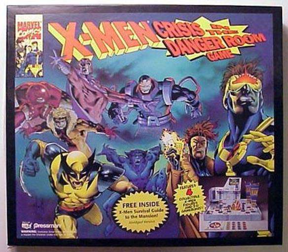 X-Men Crisis in the Danger Room Used by Pressman Toy Corporation
