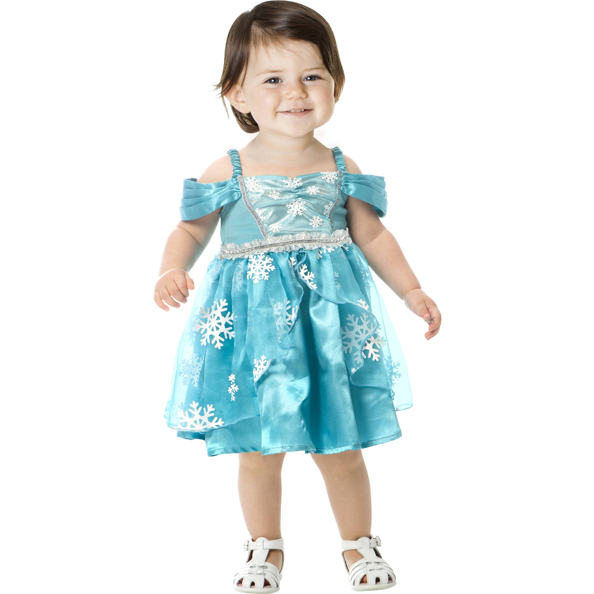 Snowflake Princess Toddler Halloween Dress Up / Role Play Costume