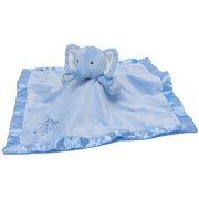 Stepping Stones Boys Elephant Plush Security Blanket, Blue