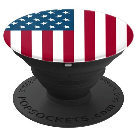 on sale 0f979 8f97e American Flag Pop Socket Grip and Stand for Phones and Tablets - New ...