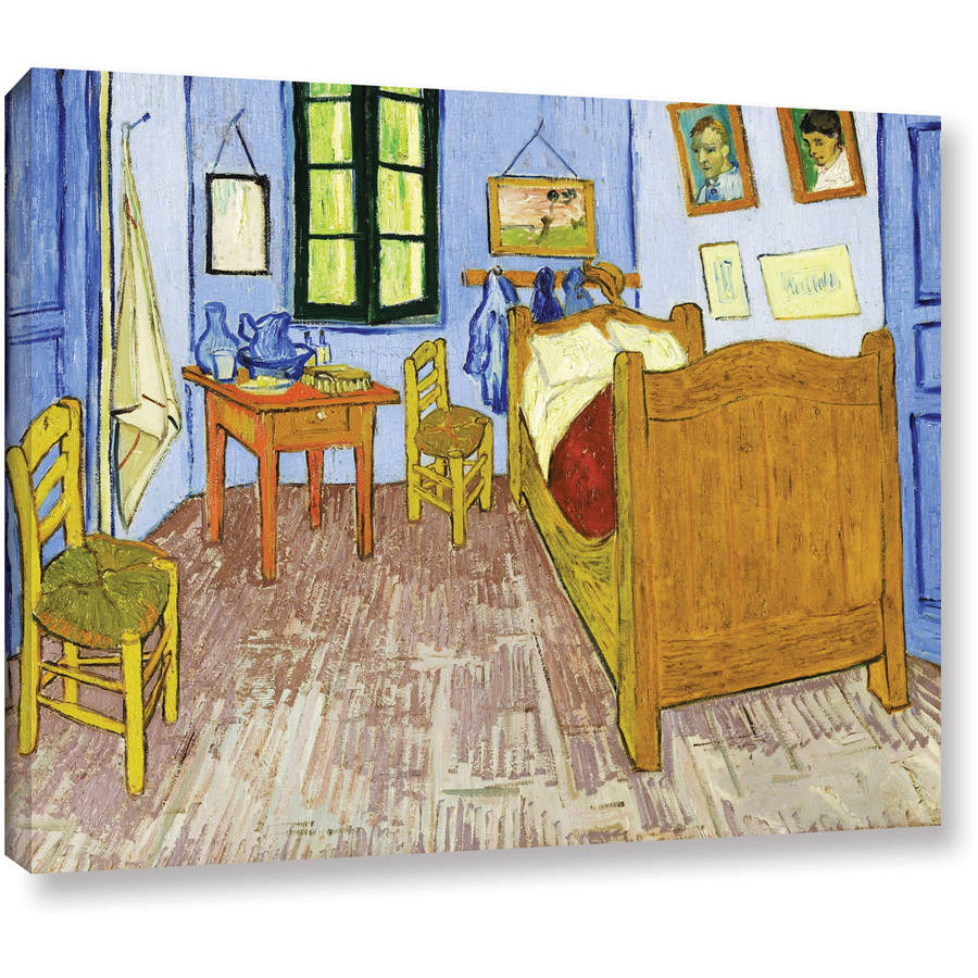 "Vangogh ""The Bedroom"" Wrapped Canvas Art"