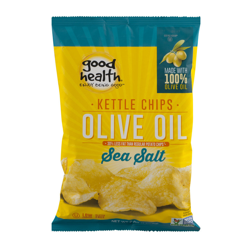 Good Health Olive Oil Kettle Chips Sea Salt, 5.0 OZ