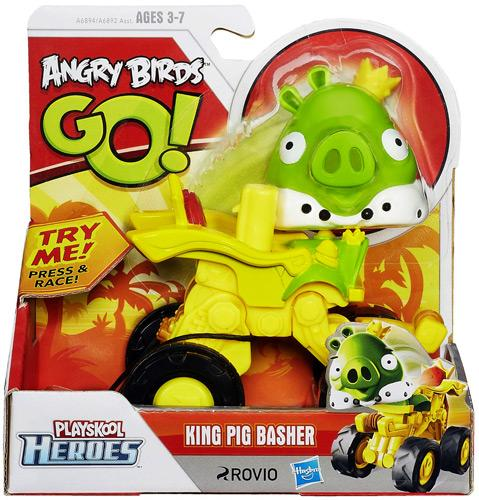 Angry Birds GO! Playskool Heroes King Pig Basher Mini Figure by Hasbro