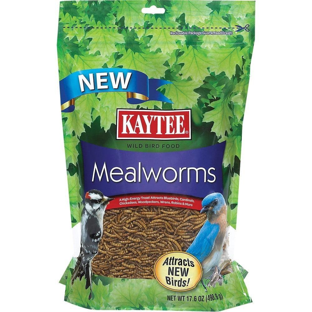 Kaytee Mealworms Wild Bird Feed, 7 oz