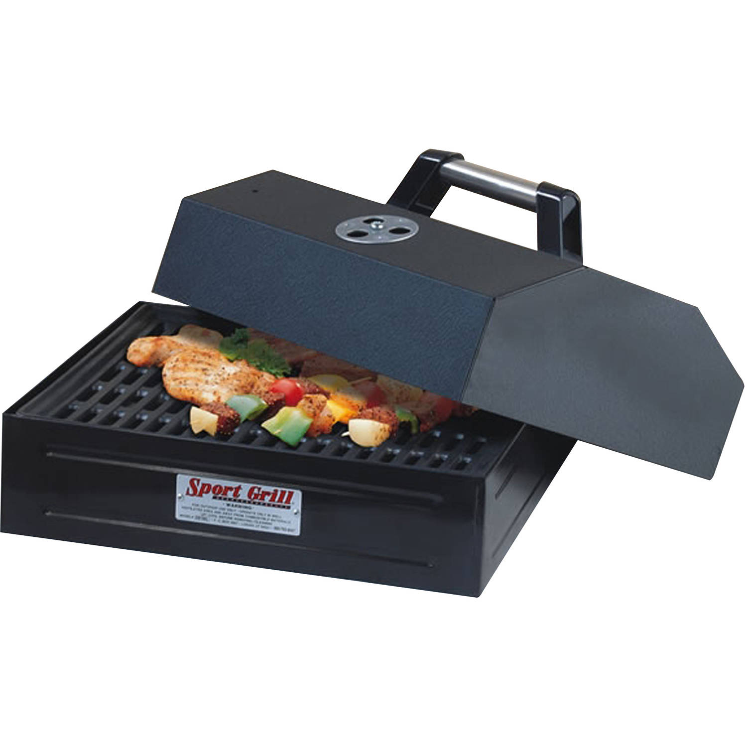 Camp Chef Barbecue Box with Seasoned Cast Iron Grate
