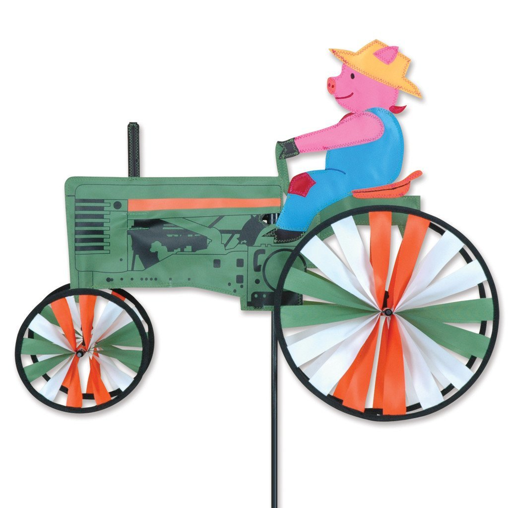 Premier Designs 22 in. Pig Tractor Spinner