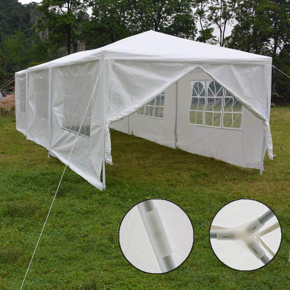 Ktaxon 8 Sides 10u0027 X 30u0027 Party Wedding Canopy Tent Gazebo Pavilion W/
