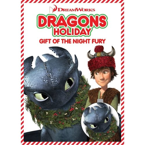 Dragons Holiday: Gift Of The Night Fury (DVD + Ornament)