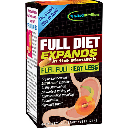 Full Diet Appetite Suppressant Dietary Supplement Tablets, 60 count