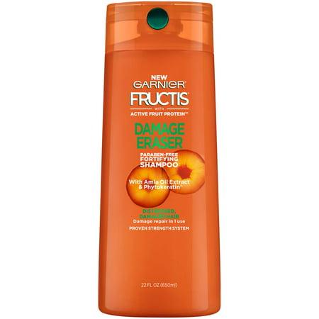 Garnier Fructis Damage Eraser Shampoo 22 FL OZ (Best Shampoo For Fine Dry Damaged Hair)