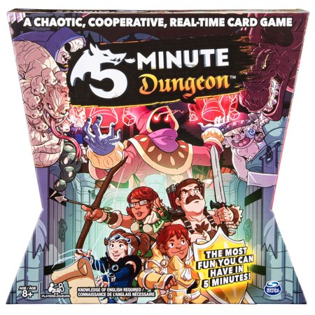 5 - Minute Dungeon Fun Card Game for Kids and Adults (13 Card Game)