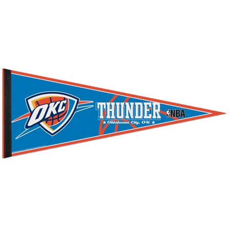 Oklahoma City Thunder Official NBA Wall Pennant by Wincraft - Halloween Fun In Oklahoma City