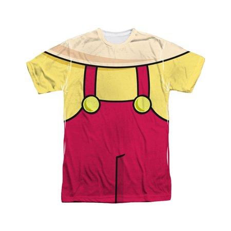 Family Guy Adult Cartoon TV Show Stewie Costume Adult 2-Sided Print T-Shirt](Halloween Stewie)