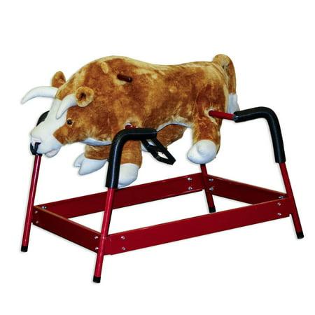 PonyLand Toys Spring Bull Rocking Toy with Sound
