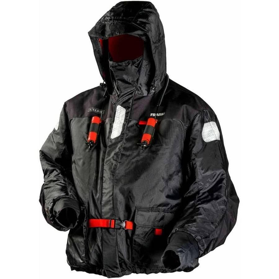 Frabill I-Float Jacket, Black by Frabill Ice