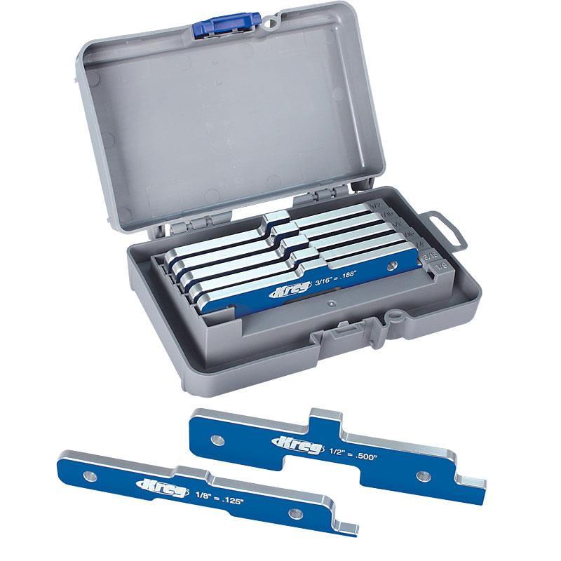 Kreg PRS3400 Precision Router Table Setup Bars - Set of 7