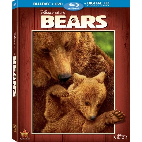 Disneynature: Bears (Blu-ray + DVD + Digital HD) (Widescreen)