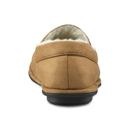 Dr. Comfort Relax Mens Slipper-13-Camel